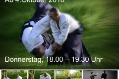 Anfängertraining Aikido Herbst 2018